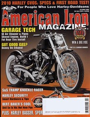 American Iron Magazine showcases the Model 1S | by Brass Balls Cycles
