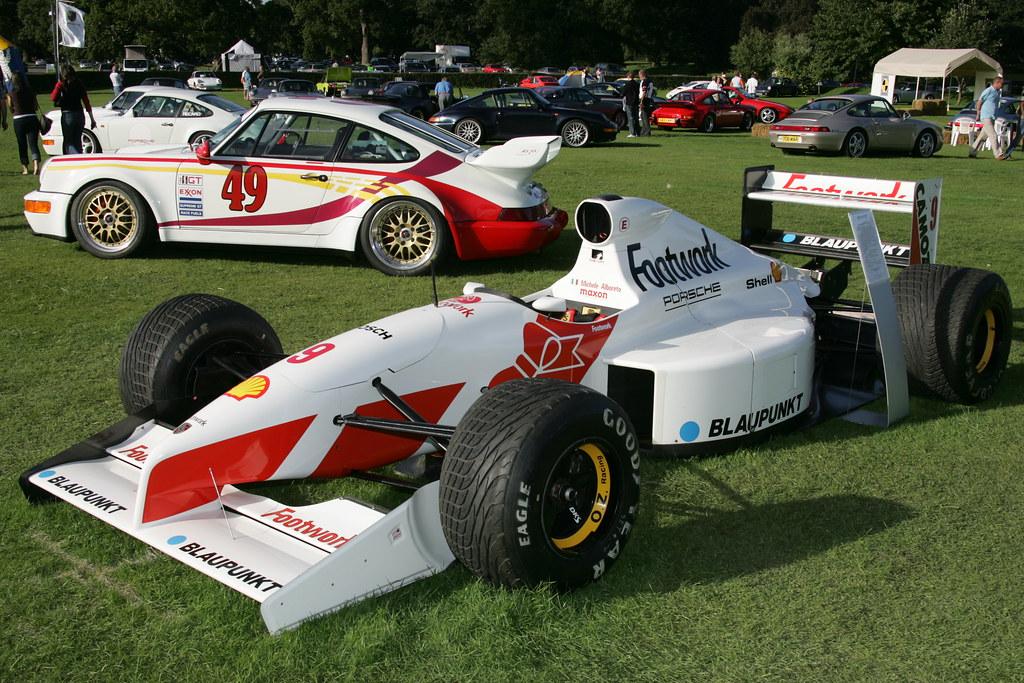 Porsche Of Delaware >> 1991 Footwork Porsche F1 FA12-2 | From Steve - PCGB | delawarepca | Flickr