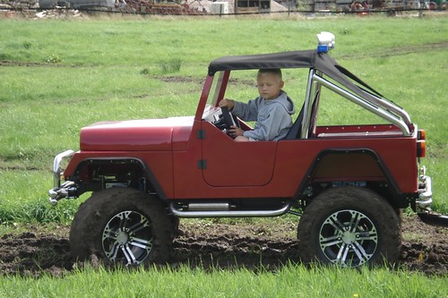 4 wheel drive kids car with gasoline engine by kidscar