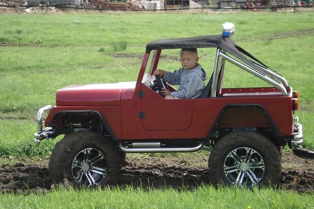 Детские самодельные автомобили с бензиновым двигателем