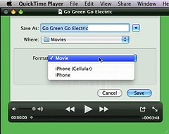 QuickTime Player 10 Save Options | by Wesley Fryer