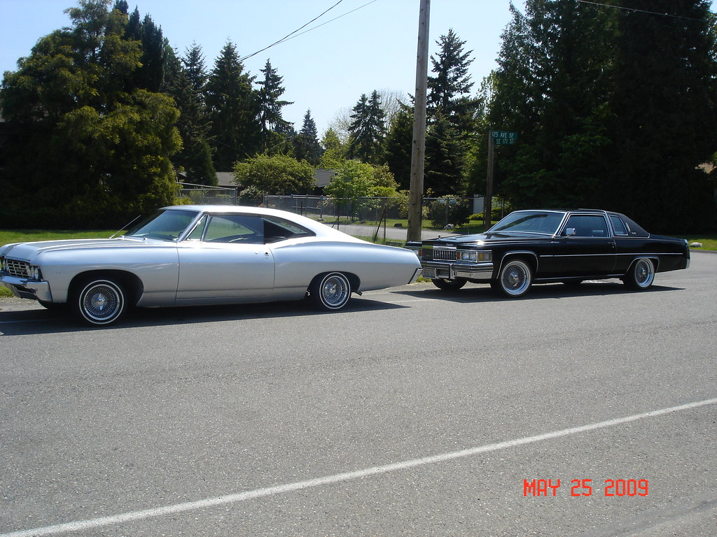 1967 Impala 1978 Cadillac Cpe Deville Sunday Wash Scratch1st Sedan By