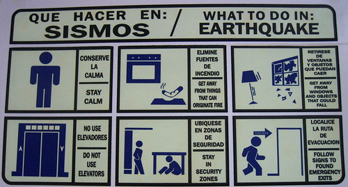 What do to in case of earthquake we have these up in the for What to do to build a house