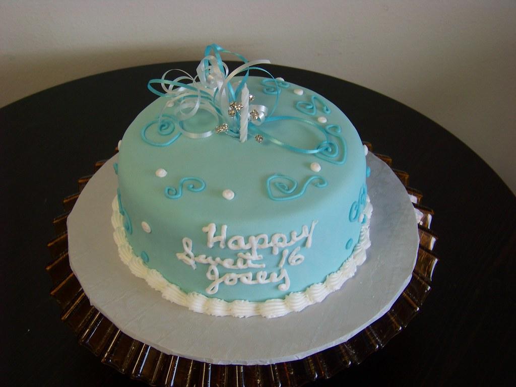 Tiffany Blue Cake Topper