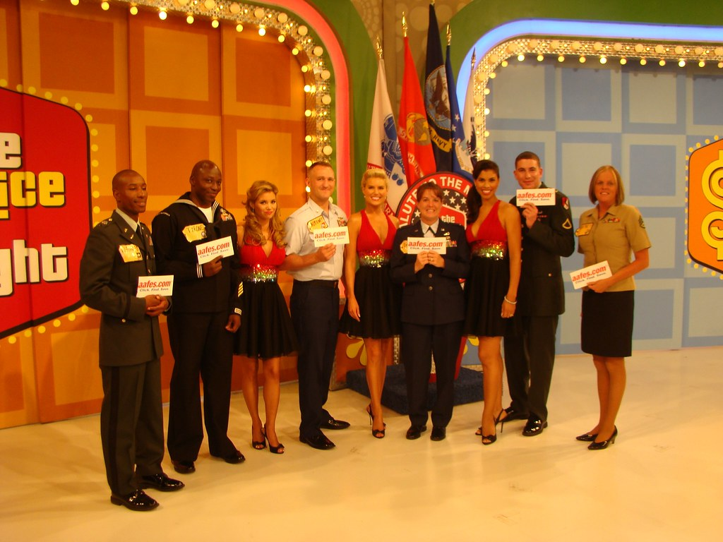 Price is Right Salute to the Military | Contestants on the
