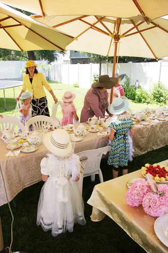 Old Fashioned Tea Party