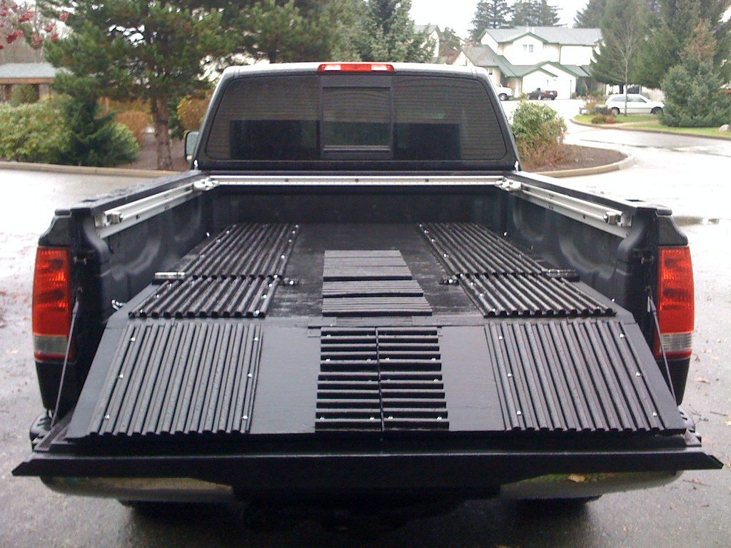 Sled Deck Home Made For Nissan Titan Andrew Meakin