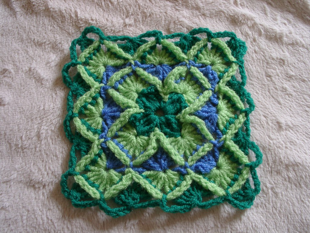 Bavarian crochet sample | Iv\'e blogged about this! At www.he… | Flickr