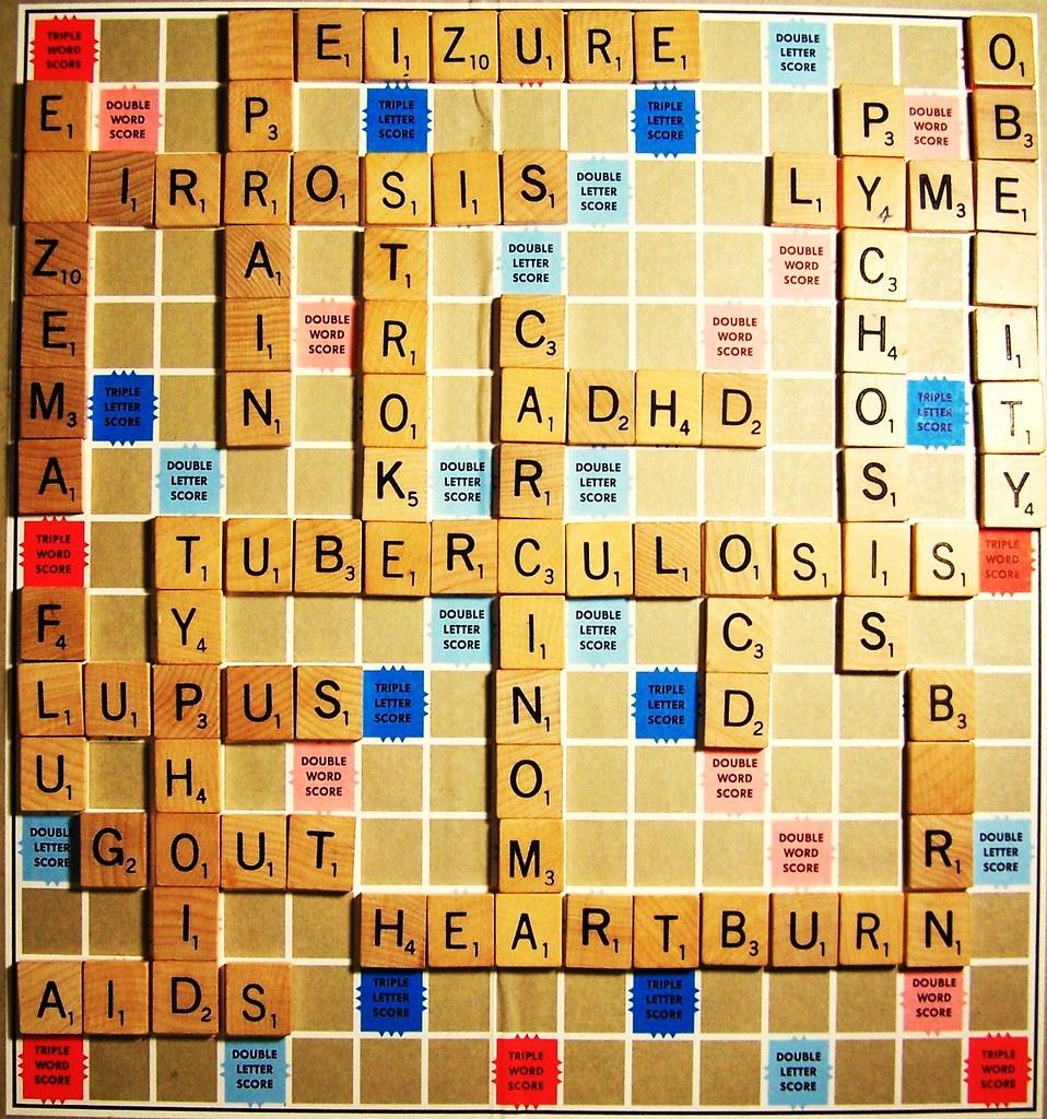 Scrabble Theme: Medical Ailments | Kelley, Lyndsey A  | Flickr