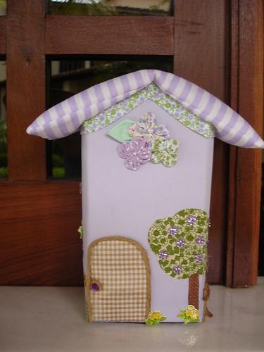 casinha peso de porta peso de porta feito com caixa de lei flickr. Black Bedroom Furniture Sets. Home Design Ideas
