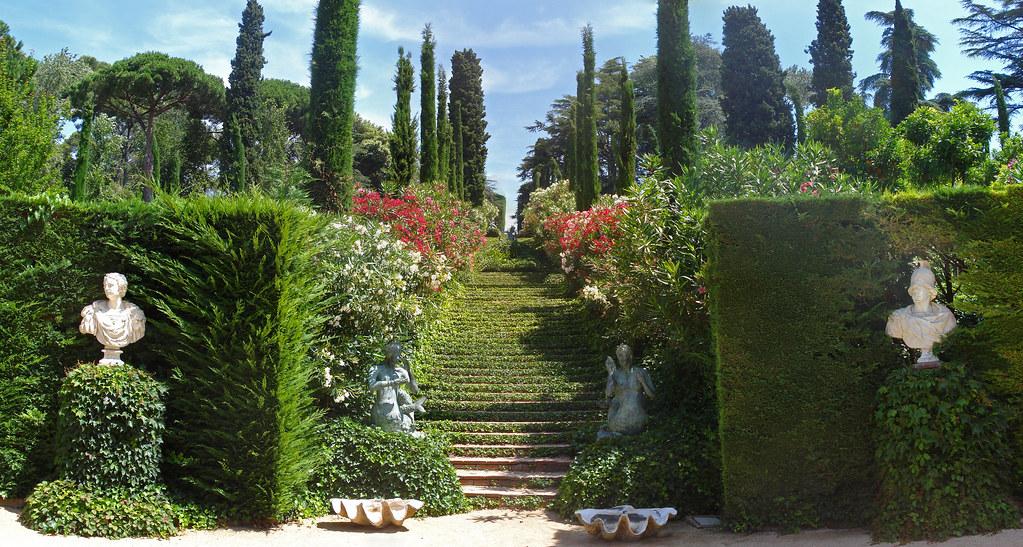 Steps, Jardins de Santa Clotilde, Lloret de Mar  Robert Wallis  Flickr