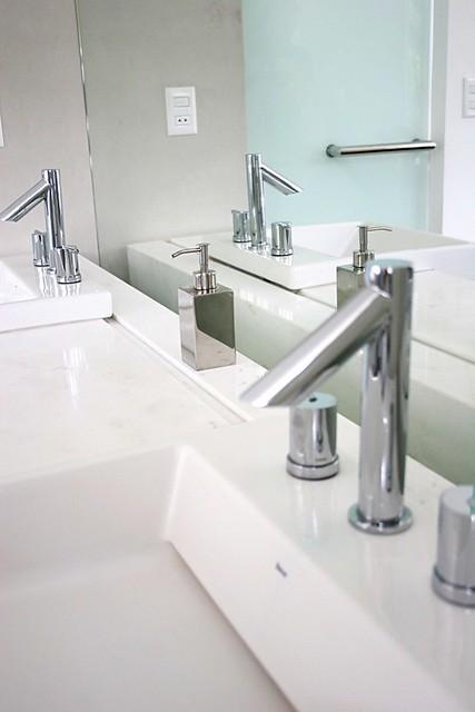 Banheiro Suíte Master Balcão Em Mármore Italiano Flickr
