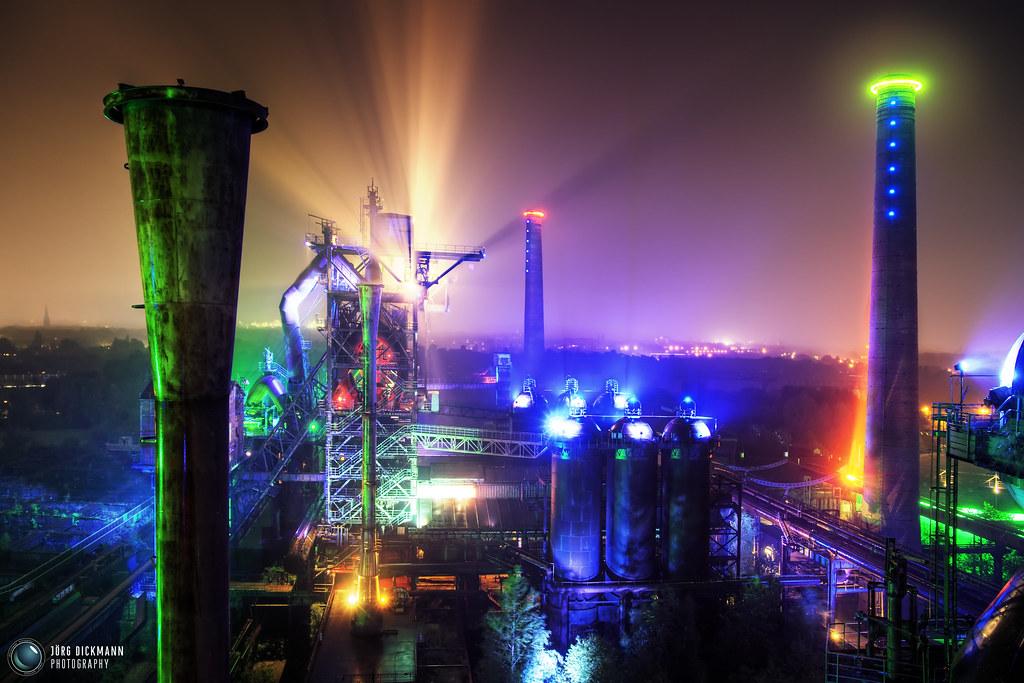 postindustrial space station landschaftspark duisburg