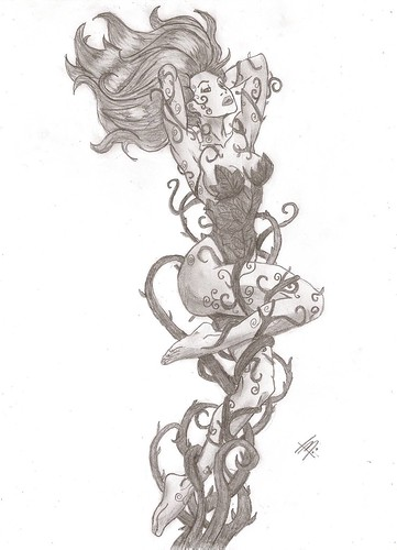 poison ivy i have to draw the joker but every one has