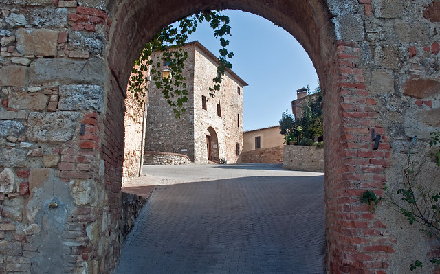 Murlo, Tuscany, Oct. 2009