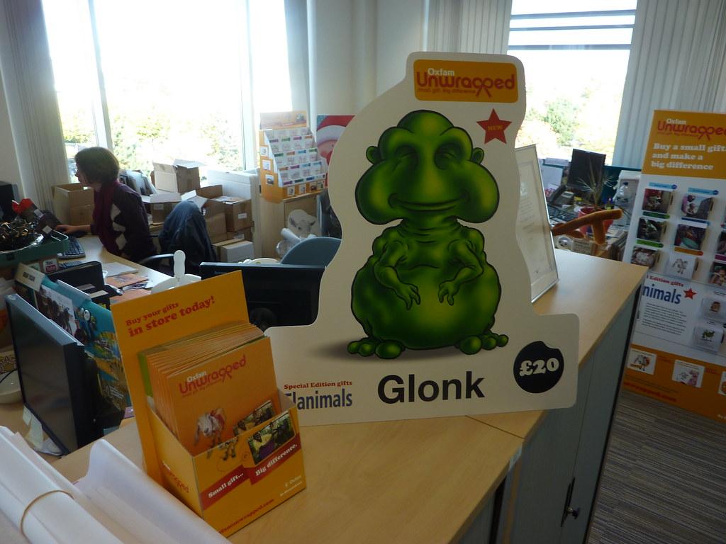 For Sale Sign >> Glonk | Point of sale materials for the Flanimal range | allispossible.org.uk | Flickr