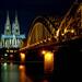 Cologne - Dom & Hohenzollernbrücke