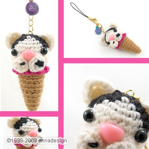 Amigurumi Ice Cream Cone Cat this is one of a special ...