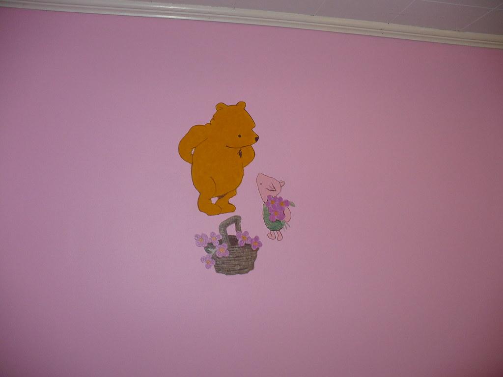 Winnie the pooh classic mural 4 leigh ann fowler flickr for Classic pooh mural