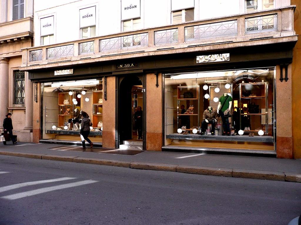 hogan store via montenapoleone milano davidesoft flickr
