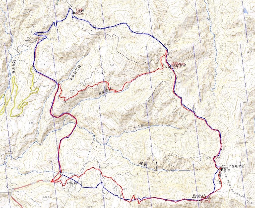 "DATA and MAP ""TORITATEYAMA"""