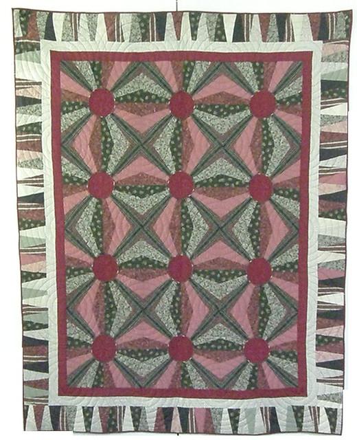 Jumping Jacks Quilt Pattern by Kaye Wood | Flickr - Photo Sharing!