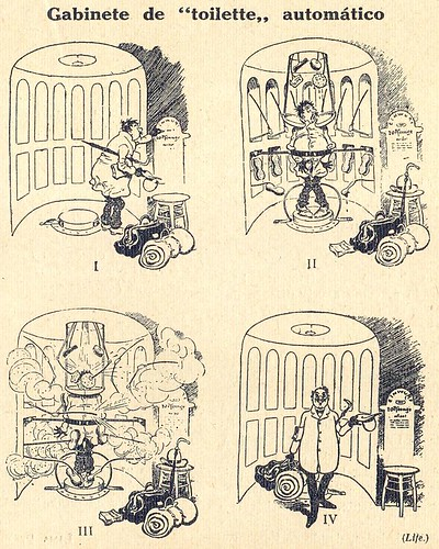 Almanaque Bertrand, 1934 - Automatic cleaning chambers 44