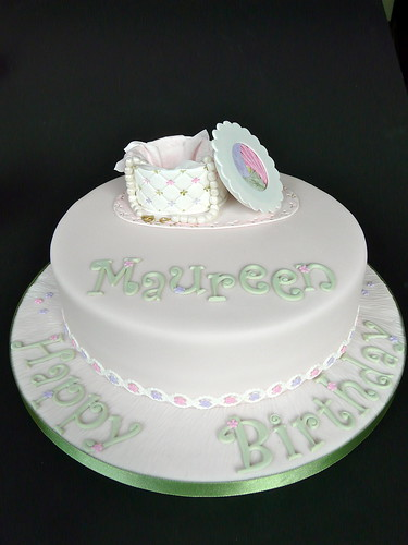 Maureen S Birthday Cake Here Is The Finished