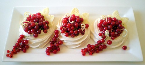 red currant pavlovas | by distopiandreamgirl