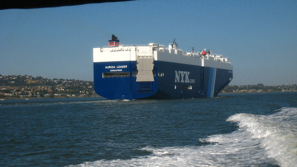 Kouros: Delta Weekend   Auriga Leader cargo ship   Flickr