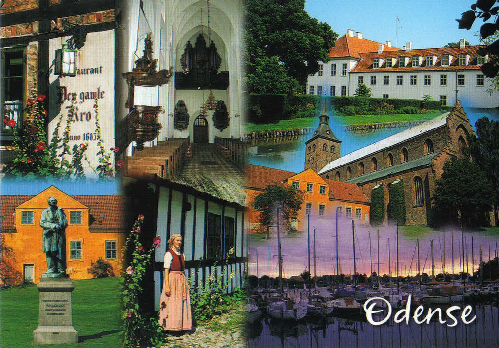 Odense, Denmark Collage Postcard | U Choose 3x Same Theme Ta… | Flickr