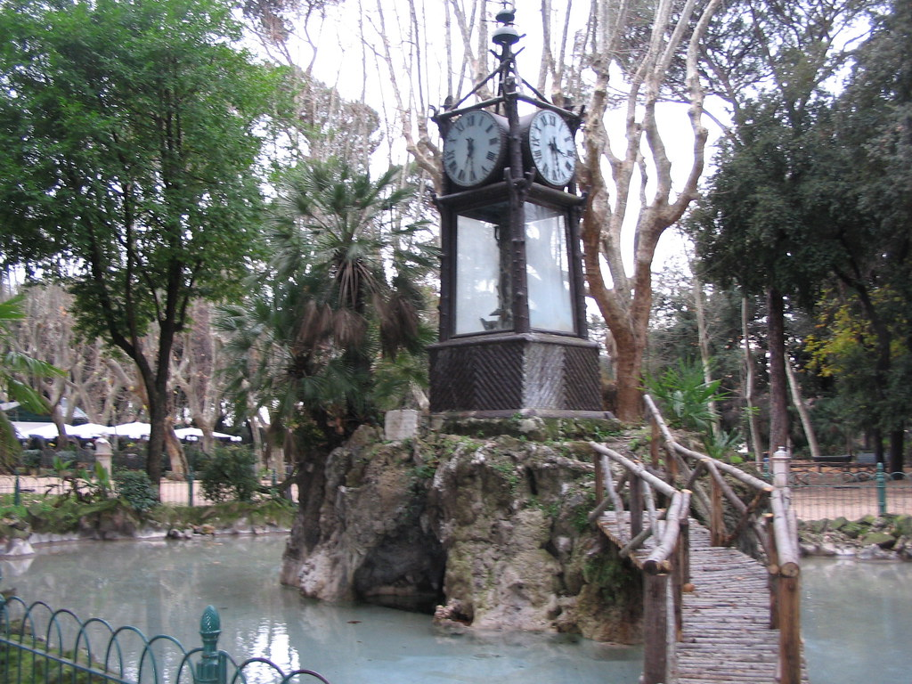 Pincio orologio ad acqua alvaro de alvariis alvaro