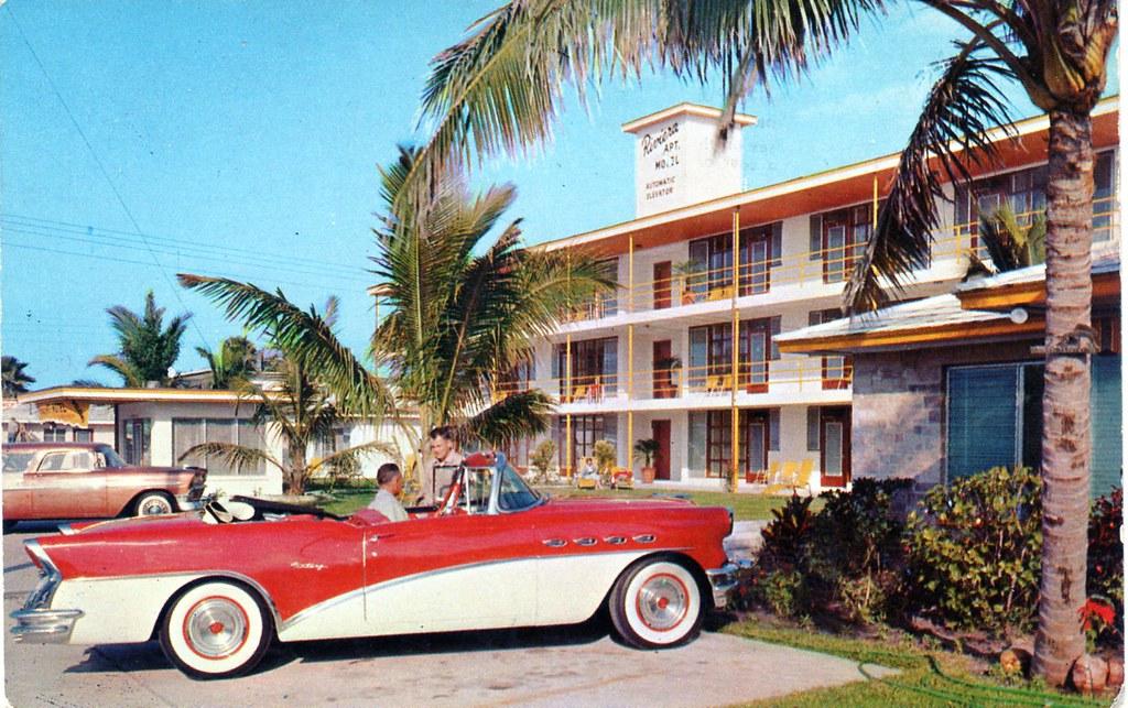 Riviera Apartment Motel Clearwater Beach Florida 217 Coron Flickr
