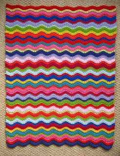 Ripple Baby Blanket | by Attic24