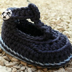 Posh Joe Crochet Baby Bootees 3-6 months Booties to ...