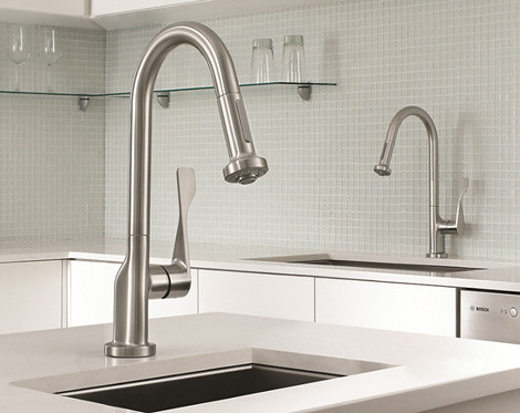 Hansgrohe Commercial Style Kitchen Faucets Colorhome