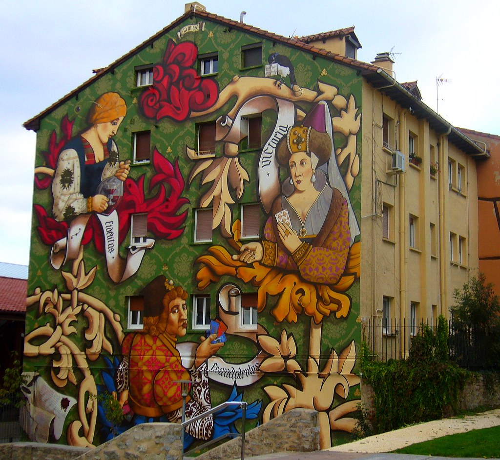 Graffiti En Una Casa De Vitoria Gasteiz Teresa Esteban Flickr - Graffitis-en-casa