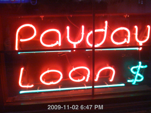 Payday Loans Neon Sign | by rinkjustice