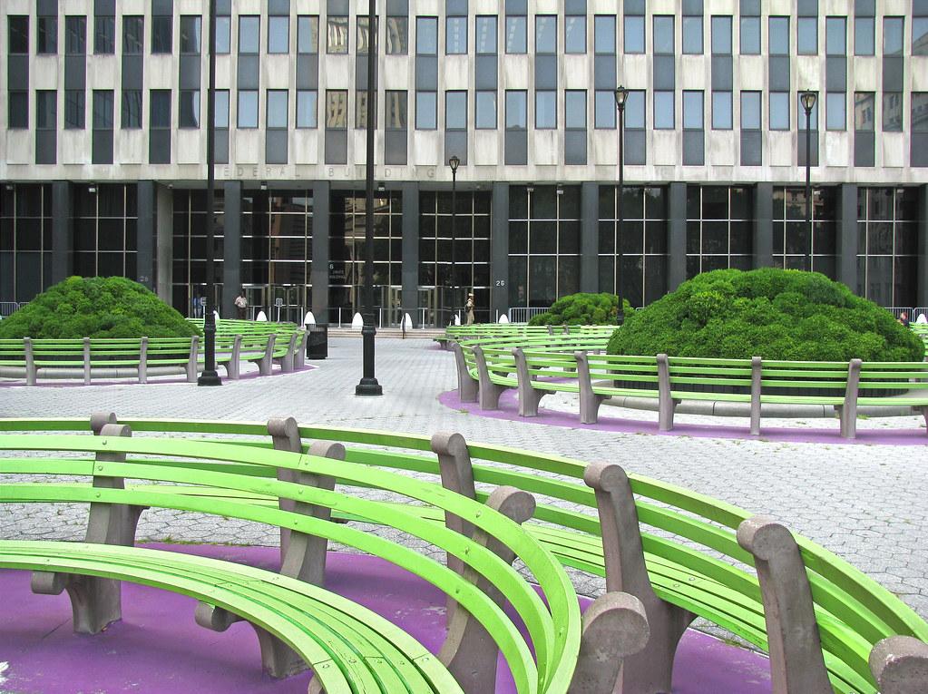 Martha Schwartz Jacob Javits Convention Center Plaza