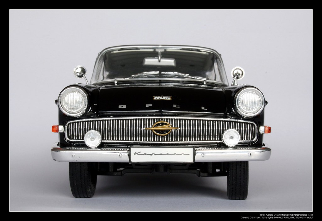 1961 Opel Kapit 228 N 1 18 Revell 06 The P2 Kapit 228 N Came