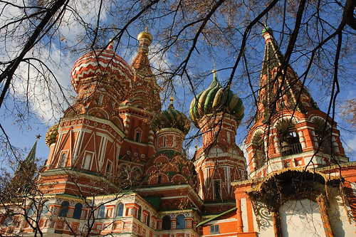 St Basil's Cathedral, Moscow, Russia | by goneforawander