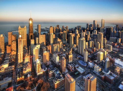 Chicago from a Chopper | by Trey Ratcliff