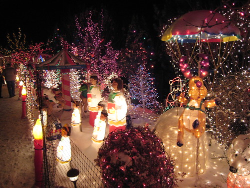 This house spends $1500 per month on electricity for this display. | by Stephanie's pics