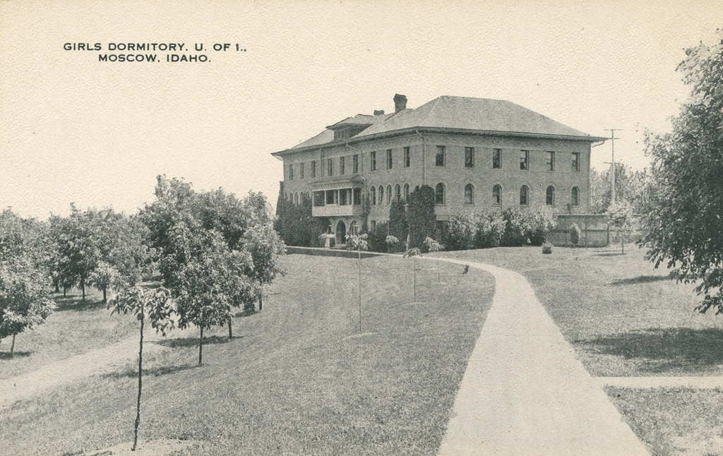 Girls Dormitory (Ridenbaugh Hall), University Of Idaho, Ci