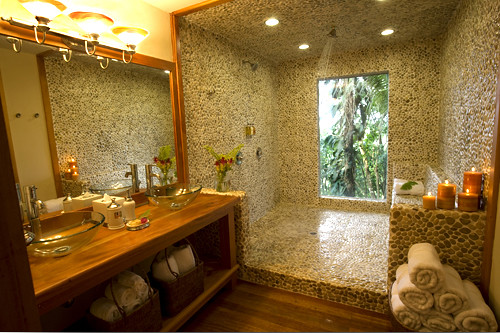Huge bathrooms with a gorgeous shower and view it is for Pictures of big bathrooms