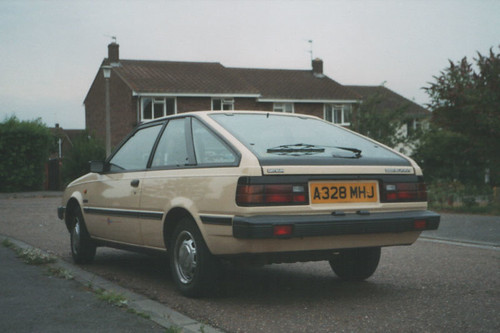 1983 Datsun Sunny 1 5gl Coupe B11 My Second Ever Car