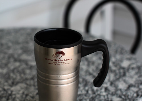 Sticky Fingers Travel Mug | by Mr.TinDC