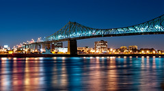 Night on the Jacques-Cartier Bridge | by Manu_H