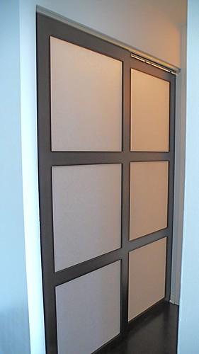 Shoji Closet Doors : My modern custom designed sliding shoji closet doors flickr