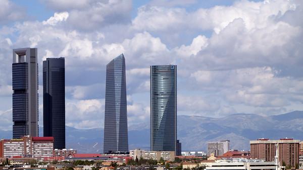 torre repsol torre sacyr torre de cristal and torre espacio by spiritual